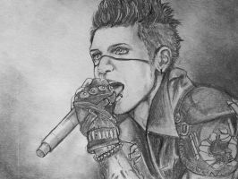 Andy Biersack of Black Veil Brides by honeycat007
