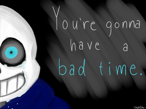 Bad Time by KawaiiCakeDraws