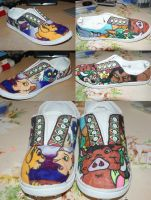Disney Lion King Shoes. by Gratian-Grime