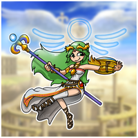 Lady Palutena by Redflare500