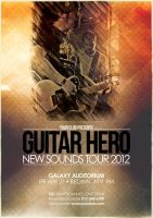 Music Flyer Vol.6 - Guitar Hero by isoarts2