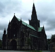 Glasgow Cathedral by teh-dino