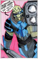 Mr. Vakarian by Justin3000