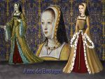 Anne de Bretagne, queen of France by Nurycat