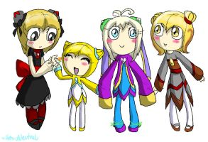 Team SunStar kiddies by HezuNeutral
