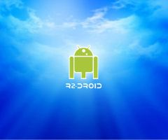 R2-DROID BLUE SKY by MarceloDZN