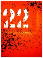 number 22 orange by davespertine