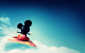 Wallpaper Mickey~ by LucesitaEditions