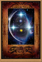 3 - Cosmic Triad - Cosmic Tarot by RazielMB