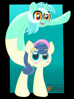 ( MLP ) LyraBon Is The Cutest I Can't Even by KrazyKari