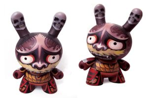 Hannya Demon Dunny by nedashi