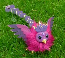Purple Baby Phoenix - Artdoll for Aryiea by Ganjamira