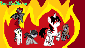 Avenged Ponyfold by SweetTooth98