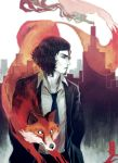 Oberion and The Fox by dark-tarou
