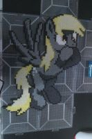Perler Derpy Hooves by cracklebyte