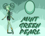 (DT) Mint Green Pearl by GoopyCat