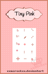 Tiny Pink Cursor by xxmsrockxx