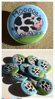 Moo Cow Button by artshell