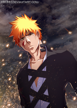 Ichigo - bleach 477 by k9k992