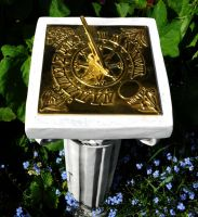 Seasons Sundial by Forestina-Fotos