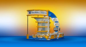 Doha Bank Exhibition Stand  Design by esdesign