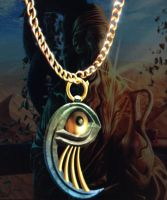 Philosopher's eye necklace by isaac77598