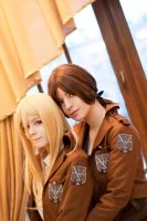 Ymir and Christa by KandaDream