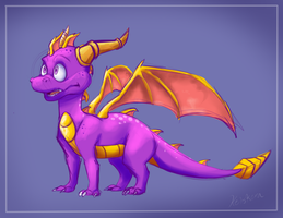 Young Spyro by Spyros-World