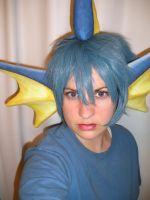 Vaporeon Cosplay WIP by AnimeGeer