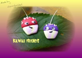 Kawaii Friends by cherrybasket