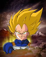 SUPER VEGETA by kayzer