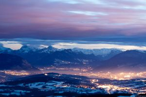 Annecy s'endort by PierreRodriguez