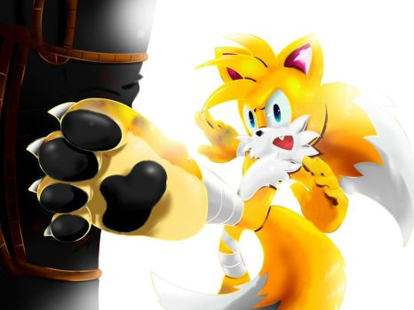 Tails - Training by Paredi