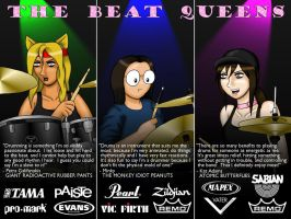 The Beat Queens by grippedchimp