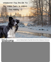 Border Collie Layout by Reigning-Graphics