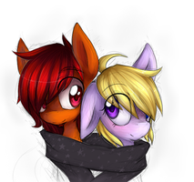 Dat Warm Scarf by Melon-Drop