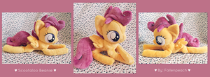 :: Scootaloo Beanie Plush :: by Fallenpeach