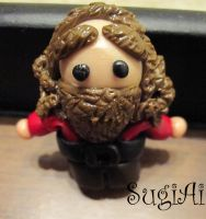Hagrid Magnet by SugiAi