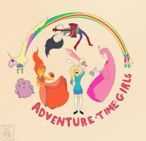 Adventure Time Girls by lavi-n