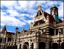 Dunedin Railway Station by skewt