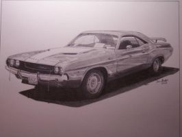 70 Challenger by SketchesByChris