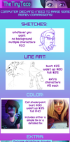 I'm opening commissions! by TheTinyTaco