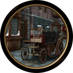 Vintage Steam Carriage by LlolaLane