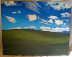 Windows Desktop Painting by TheLittlestGiant