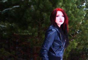 Bloody Red Angel by inaeriksson