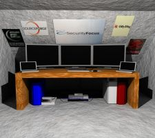 Hacker's Room by sythis
