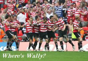 Doncaster Rovers - Where's Wally by 13Vampirella