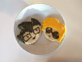 Poorly Done John and Dave Cookies by Awajuk