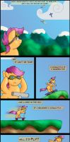 Scootaloo Sails No More by Digoraccoon