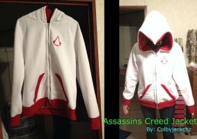 Assassin's Creed Zip-Up Jacket by colbyjackchz